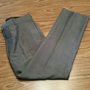 Calvin klein slim fit wool dress pants,33x32,grey